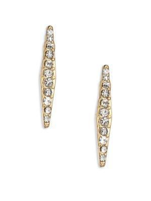 Abs By Allen Schwartz Jewelry Going Coastal Crystal Bar Studs