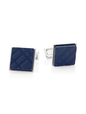 Burberry Iconic Check Cufflinks