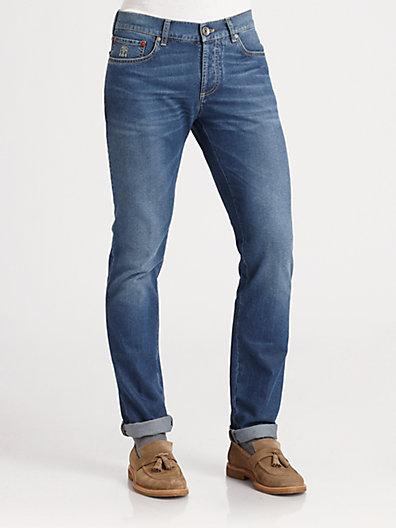 Brunello Cucinelli Five-pocket Denim Jeans