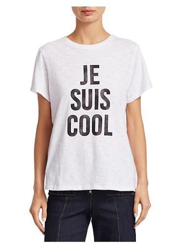 Cinq A Sept Je Suis Cool T-shirt