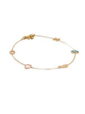 Loquet Hope Charm Bracelet