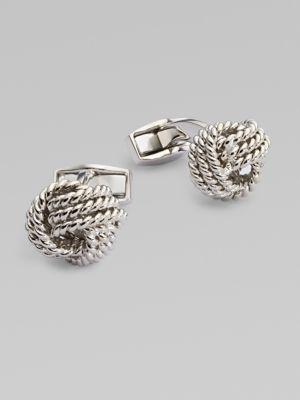 Tateossian Round Knot Cuff Links