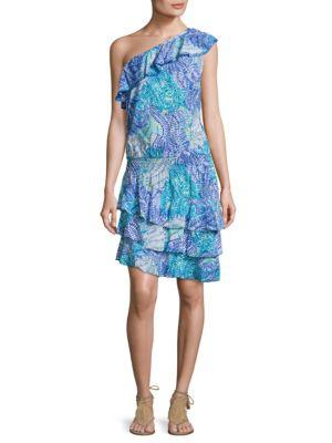 Lilly Pulitzer Peighton One Shoulder Dress
