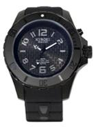 Kyboe Stainless Steel & Silicone Strap Watch