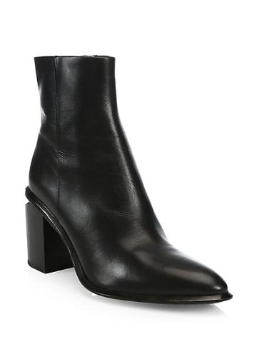 Alexander Wang Anna Leather Ankle Boots