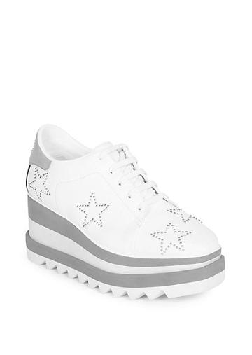 Stella Mccartney Sneak-elyse Studded Star Sneakers