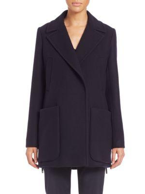 Max Mara Bye Patch-pocket Coat