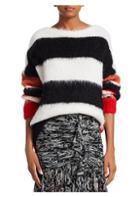 Cinq A Sept Damiana Stripe Mohair-blend Sweater