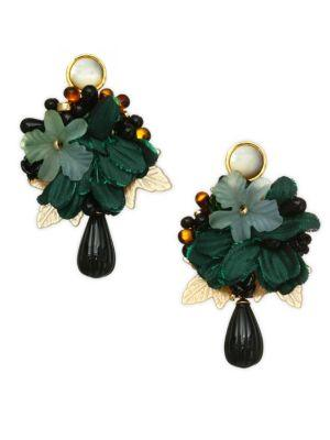 Lizzie Fortunato Rosa Earrings