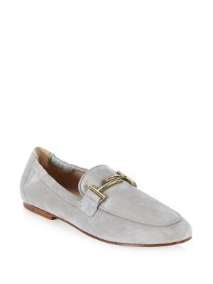 Tod's Cuoio Legg Suede Loafers