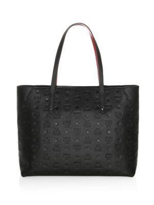 Mcm Klara Leather Shopper