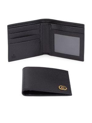 Gucci Grained Leather Wallet