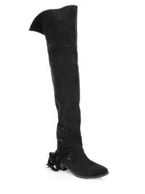 See By Chloe Dasha Over-the-knee Suede Boots
