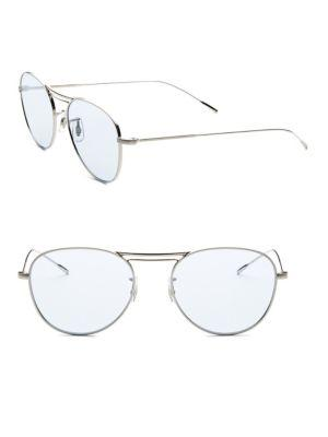 Oliver Peoples Cade 52mm Tinted Aviator Sunglasses