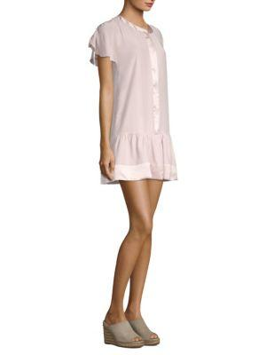 Parker Parker Stacey Combo Shift Dress