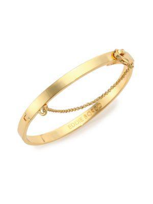 Eddie Borgo Thin Safety Chain Bracelet
