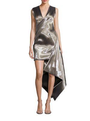 Rubin Singer Liquid Asymmetrical Dress