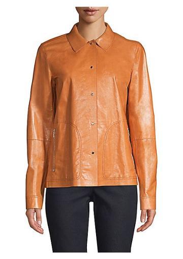 Lafayette 148 New York Jaren Leather Jacket