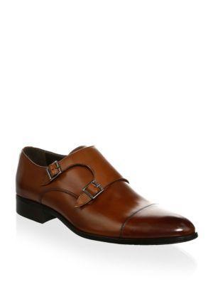 To Boot New York Bankston Double Monk-strap Oxfords