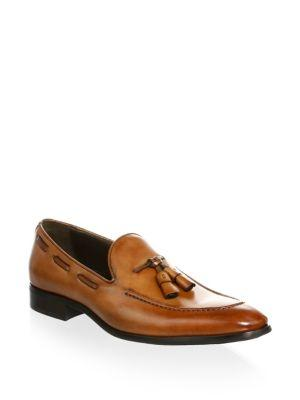 To Boot New York Barclay Leather Tassel Loafers