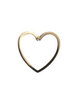 Delfina Delettrez Love 18k Yellow Gold Single Stud Earring
