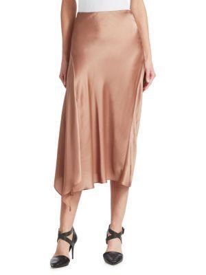 Brunello Cucinelli Handkerchief Midi Skirt