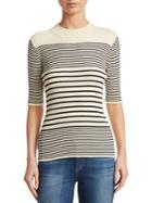 Acne Studios Stripe Rib-knit Sweater