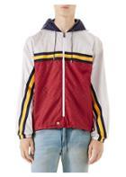 Gucci Colorblock Guccy Zip Jacket