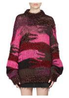 Saint Laurent Oversized Camouflage Sweater