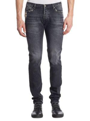 The Kooples Faded Slim-fit Jeans
