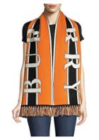 Burberry Football Knit Cashmere Scarf