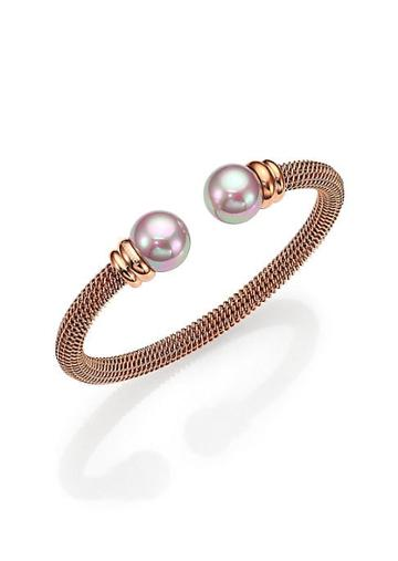 Majorica 12mm Nuage Round Pearl Tipped Bracelet