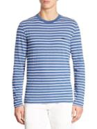 Lacoste Striped Long Sleeve Tee