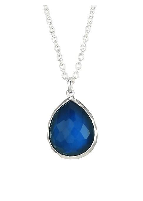 Ippolita 925 Wonderland Sterling Silver Teardrop Necklace
