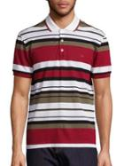 Salvatore Ferragamo Horizontal Striped Polo