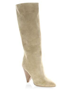Michael Kors Collection Belinda Leather Knee-high Boots