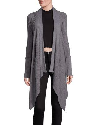 Splendid Open Front Blanket Cardigan