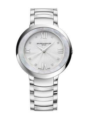 Baume & Mercier Promesse 10178 Stainless Steel Bracelet Watch