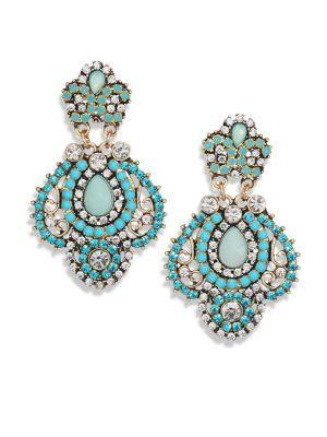 Abs By Allen Schwartz Jewelry Detailed Drop Earrings