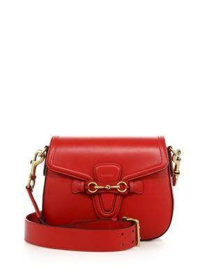 Gucci Lady Web Medium Leather Shoulder Bag