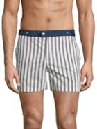 Solid And Striped Kennedy Chesapeake Striped Shorts