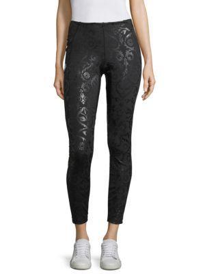 Fendi Brocade Leggings