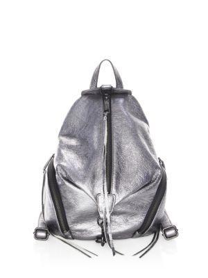 Rebecca Minkoff Metallic Medium Julian Backpack