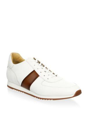 To Boot New York Eldon Trainer Leather Sneakers