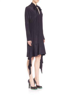 Marni Asymmetrical Tieneck Dress