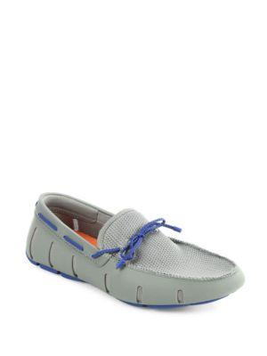 Swims Braided Lace Up Loafers