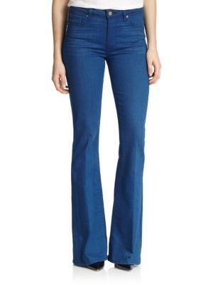 Paige High Rise Flare Jeans