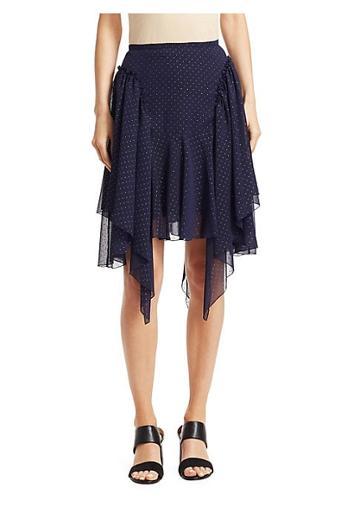 See By Chloe Chiffon Studded Skirt