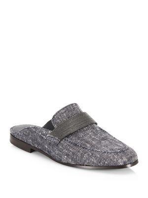 Brunello Cucinelli Denim Loafers