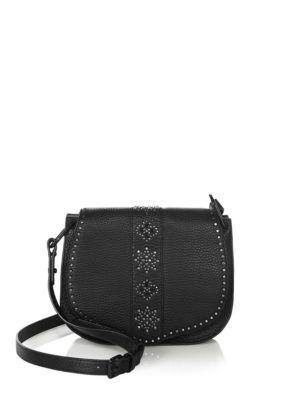 Rebecca Minkoff Stargazing Leather Mini Saddle Bag